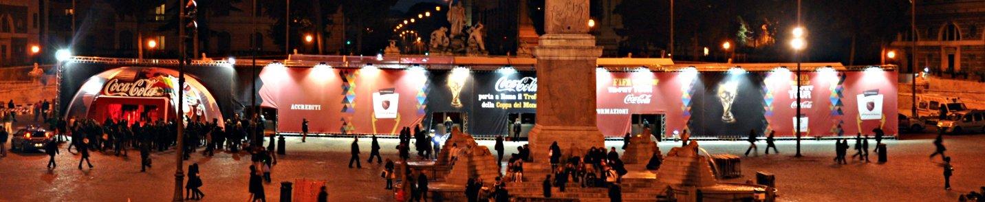 NoSilence : Evento CocaCola a Roma