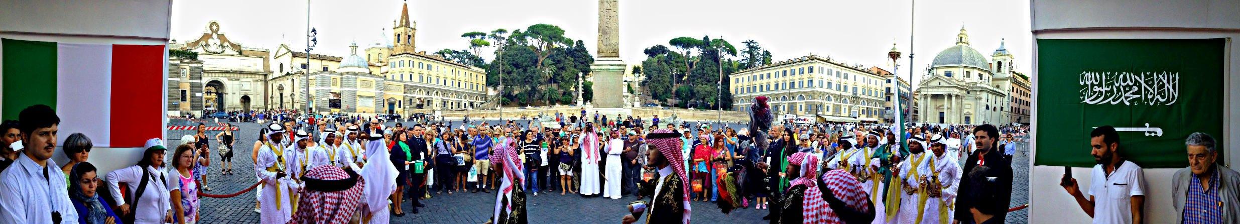 organizzazione Evento Arabia Saudita - Italia