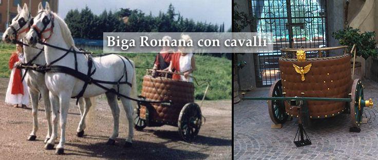 affitto biga romana