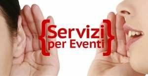 servizi per eventi