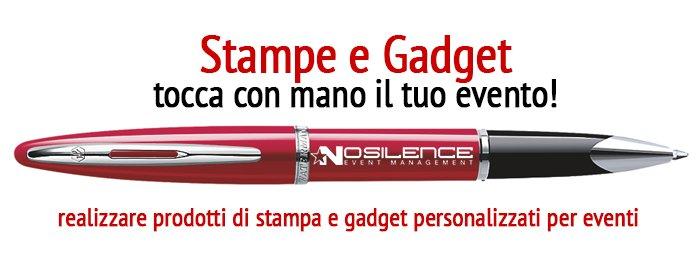 Stampe e Gadget per Eventi