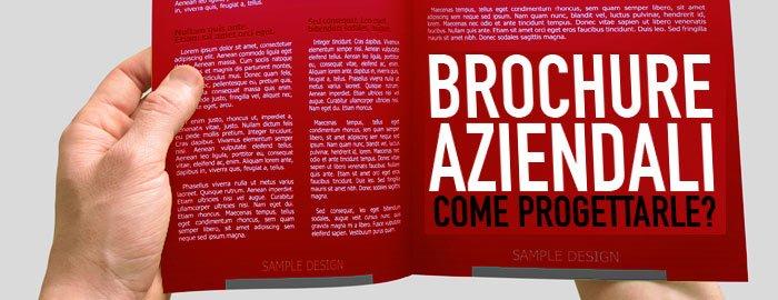 Prodotti di stampa, una brochure accattivante.