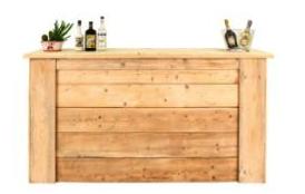 noleggio bancone bar legno roma