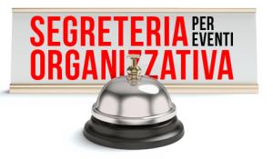 Segreteria Organizzativa per eventi, pianificazione accoglienza.