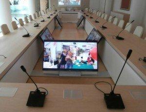 Noleggio Conference System per eventi Roma