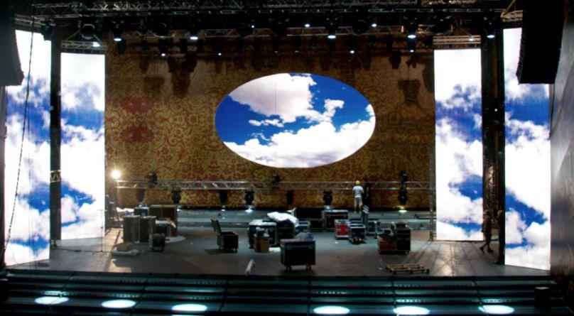 Noleggio Quinte Teatrali, Led e Scenografie - Roma
