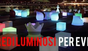 Arredi Luminosi per eventi