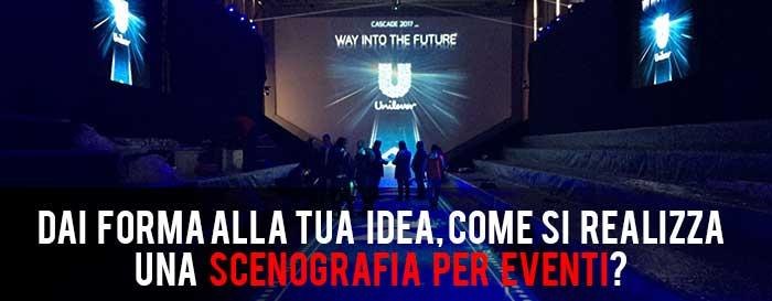 SCENOGRAFIE PER EVENTI ROMA