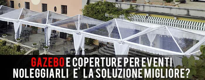 gazebo PER EVENTI ROMA
