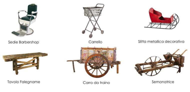Noleggio Arredi Vintage Roma