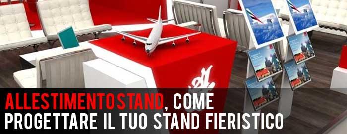 Allestimento Stand, come progettare il tuo Stand Fieristico