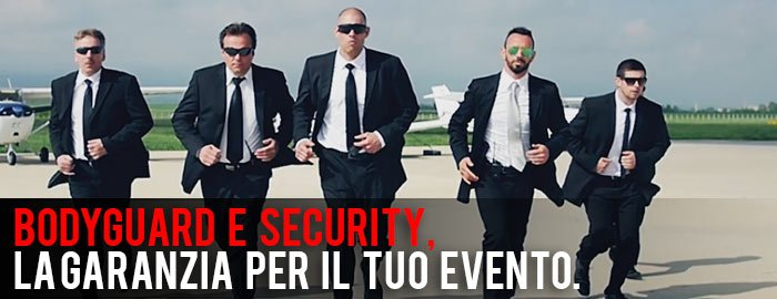security per eventi