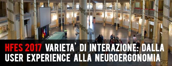 HFES | Varietà di Interazione: dalla User Experience alla Neuroergonomia