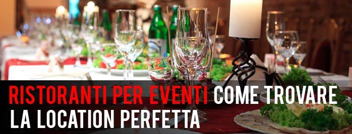 ristoranti per eventi