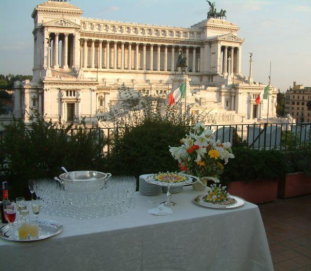 Terrazze per eventi Roma