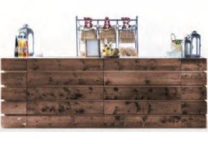 bancone bar in legno