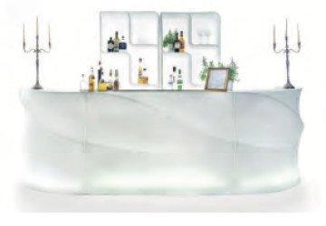 Noleggio banconi bar luminosi per eventi roma for Banconi bar usati roma