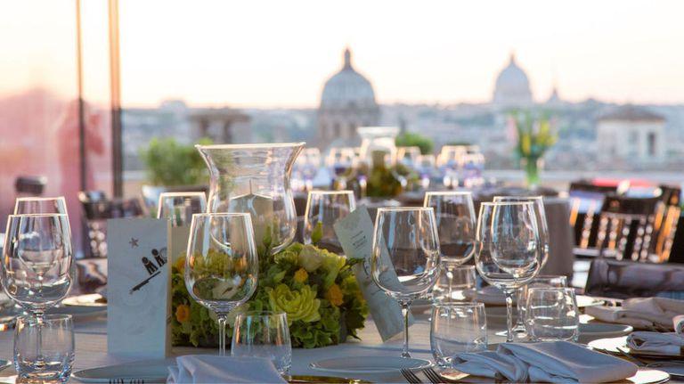 Terrazza Caffarelli - Lussuosa location per eventi con vista su Roma