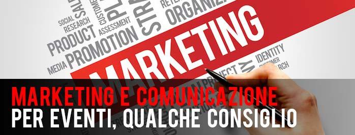 Marketing e Comunicazione per Eventi