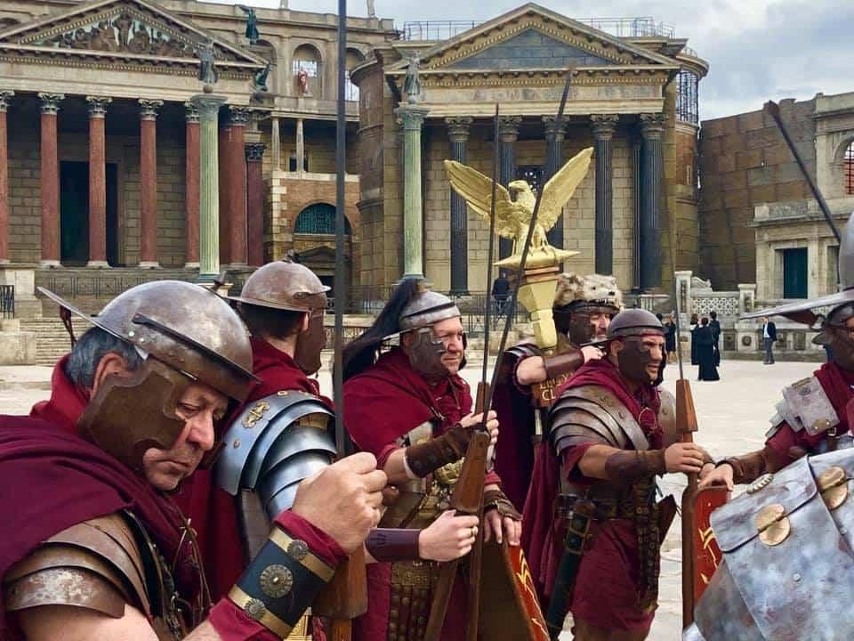 spettacolo antichi romani