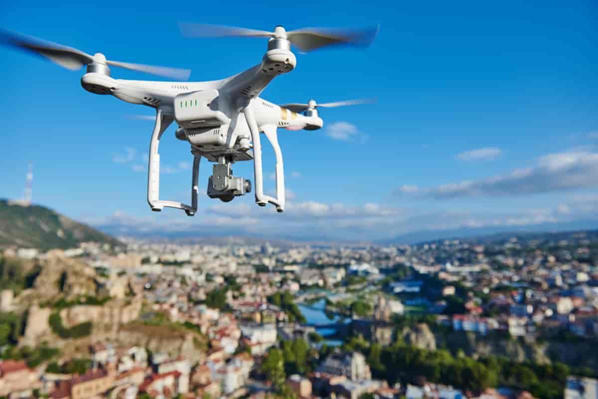 Riprese Video con Drone